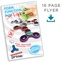 16pp mini booklet PromoSpinners